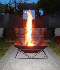 pit fires how to make a cool steel fire pit for your back yard or garden