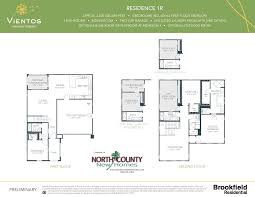 single family home floor plans vientos new homes in san marcos ca floor plans new construction