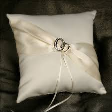 wedding ring pillow with this ring ivory ring bearer pillow