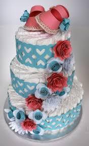 cut n u0027 edge crafts baby shower diaper cake