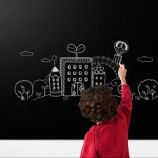 Home Decor Chalkboard Aliexpress Com Buy 60x200cm Wall Stickers Chalkboard Stickers