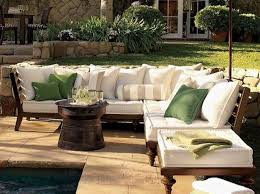 Patio Furniture Ideas by Furniture Divine Frontgate Outdoor Furniture With White Sofa And