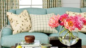 how to choose a couch how to choose the right pillows for a sofa southern living youtube