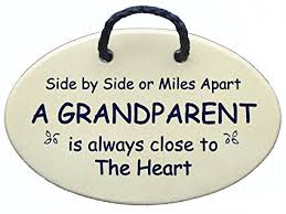 grandparent plaques side by side or apart a grandparent is always