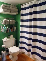 The Latest In Shower Curtain Pies And Puggles Ditto Dyi Upcycled Striped Trash Can