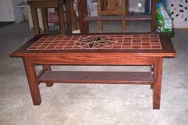 tile top coffee table charming tile top coffee table somerefo org