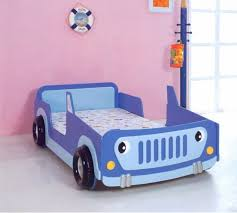 Blue Car Bed Captivating Car Bed Designs That Every Kids Must See