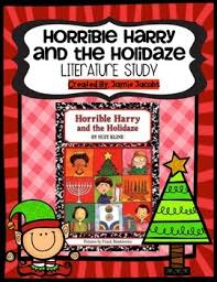 horrible harry and the holidaze literature study by