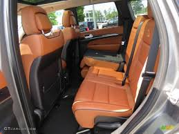 jeep cherokee orange new saddle black interior 2012 jeep grand cherokee overland summit
