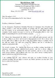 bunch ideas of recommendation letter medical residency on template