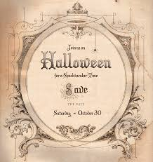 7 best images of diy save the date template halloween party