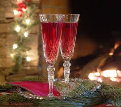 holiday champagne cocktails cranberry sangria champagne cocktail the saucy southerner