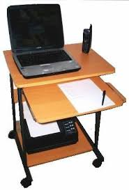 Small Laptop Computer Desk Sts5806 24 Mini Computer And Laptop Desk Table With Wheels