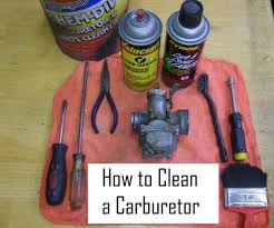 how to clean cleaning a carburetor in 8 easy steps 8 steps