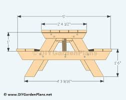 popular of child picnic table plans and how to build a kids picnic