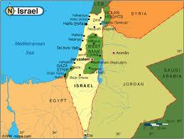 sheva israel map israel map and israel satellite images