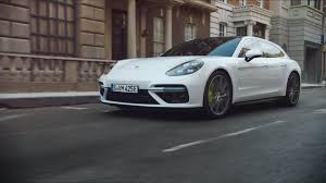 porsche electric hybrid porsche panamera turbo s e hybrid sport turismo makes video debut