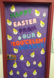 easter door decorations 17 free easter bulletin board ideas classroom decorations