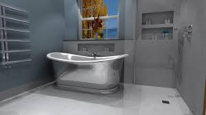 luxury bathroom design stone u0026 chrome