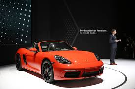 new porsche 2017 porsche debuts three models at the new york auto show new york