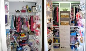 winsome space design for small closets ideas with red storages