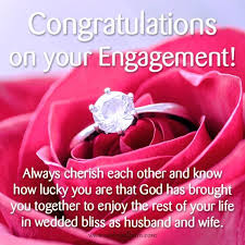 congratulate engagement engagement wishes congratulate beautiful on engagement