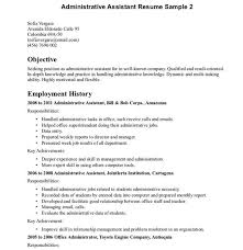 Administration Jobs Resume by 10 Administration Resume Templates Free Pdf Word Samples