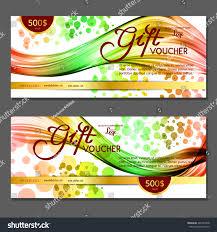 green gift voucher vector illustration gift voucher vector illustration stock vector 465321848