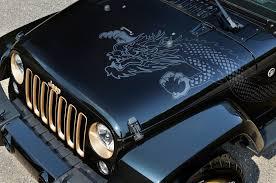 jeep hood stickers imagine wrangler dragons jeep wrangler dragon edition photo