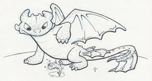 dragon coloring pages dragons train toothless gekimoe u2022 85408