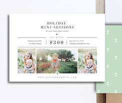 christmas card templates for photographers u0026 photoshop users