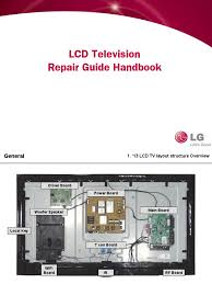 lcd tv one point guide how to repair lcd power inverter