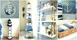 nautical bathroom decor ideas nautical bathroom accessories decor ideas vintage rustic fresh