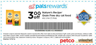 printable nature s recipe dog food coupons petco 3 1 nature s recipe grain free cat food printable coupon