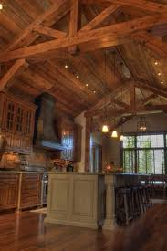 kitchen rustic kitchen green ceiling fan one wall breakfast nook