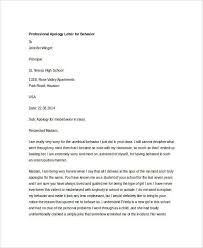 Explanation Letter Due To Negligence personal apology letter for misunderstanding sle professional