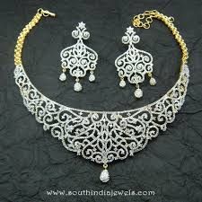 gold plated fashion necklace images Gold plated choker from chaahat fashion jewellery south india jewels jpg