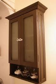 Build Your Own Bathroom Vanity Cabinet - finished bathroom vanity cabinet with black chalkboard paint then