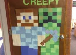 Red Ribbon Door Decorating Ideas 15 Minecraft Door Decorating Ideas Red Ribbon Week Red Ribbon
