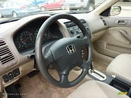 2001 honda civic ex interior beige interior 2001 honda civic ex sedan photo 49624825