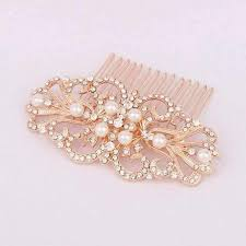 gold hair accessories gold bridal hair accessories wedding prom hair comb tyale store