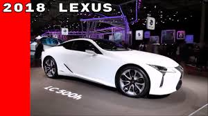 white 2018 lexus lc 500h with red interior youtube