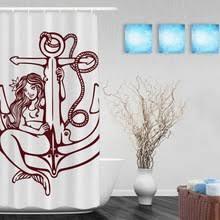 Vintage Mermaid Shower Curtain - popular vintage shower curtains buy cheap vintage shower curtains