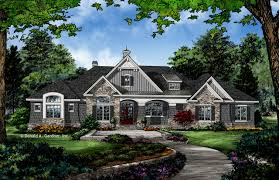 Donald A Gardner The Chaucer House Plan 1379 Craftsman Exterior Other By