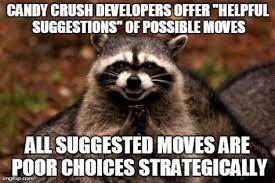 Evil Raccoon Meme - evil raccoon meme blank