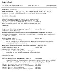 College Admissions Resume Template Resume Templates For Senior Citizens Resume Template Example