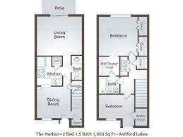two bedroom two bath apartment floor plans bedroom bath apartment part 2 1 house addition modern plans