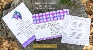 themed wedding invitations wine themed wedding vineyard theme wedding