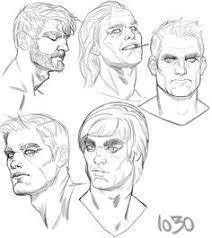 art sketch man face emotion inspiring character design