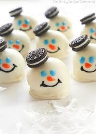 21 snowman themed desserts cute sweets snowmen u2014delish